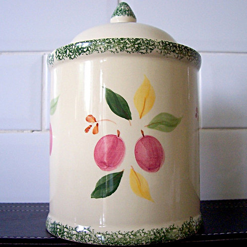 Marks & Spencer Damson Lidded Storage Jar Cannister