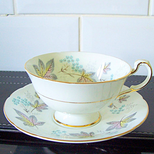 Paragon Enchantment Wide Rimmed Cup & Saucer