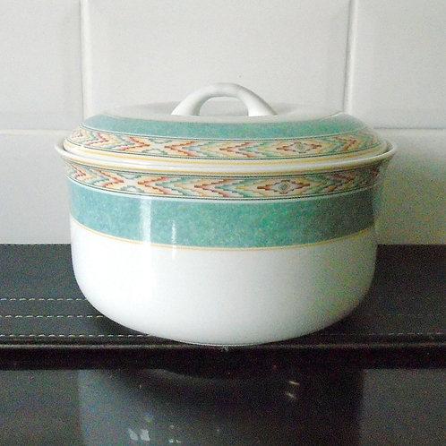 Wedgwood Aztec Lidded Casserole Dish / Tureen