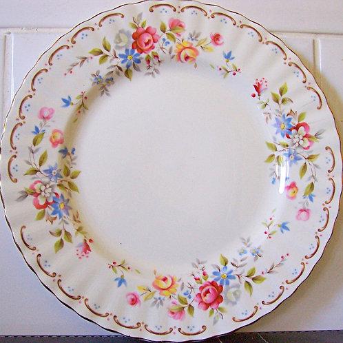 Royal Albert Jubilee Rose Salad Dessert Plate