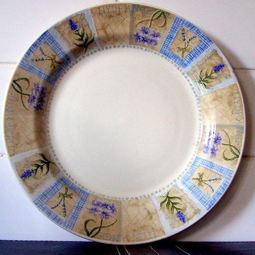 Churchill Hydrangea Dinner Plate