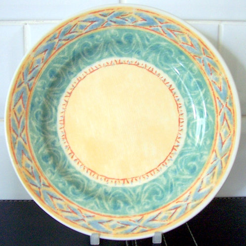 Churchill Ports of Call Malang Salad Dessert Plate