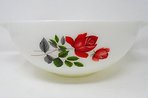 JAJ Pyrex June Rose Large Cinderella  Mixing Bowl