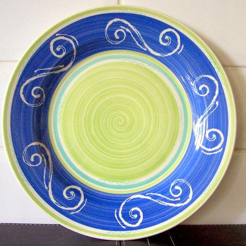 Churchill Ports of Call Seville Dinner Plate