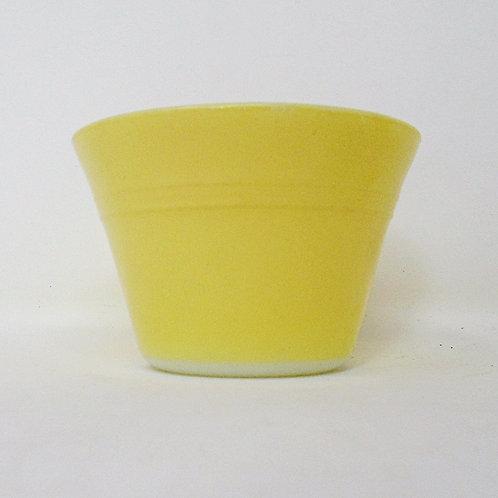 Vintage JAJ Pyrex Ramekin Custard Cup Yellow