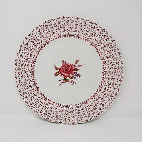 Johnson Brothers Rose Garland Dinner Plate
