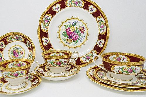 Royal Albert Lady Hamilton Dinner Plate