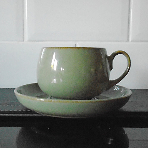 Denby Camelot Cup and Saucer