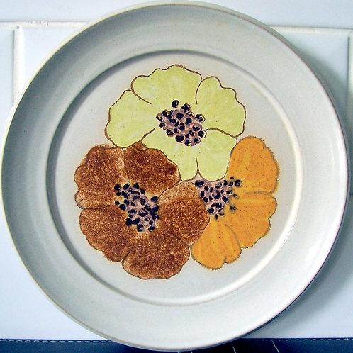 Denby San Gabriel Potpourri Honey Salad Dessert Plate