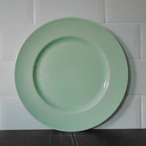 Wedgwood The Sea Glass Collection, Large Round Green Platter