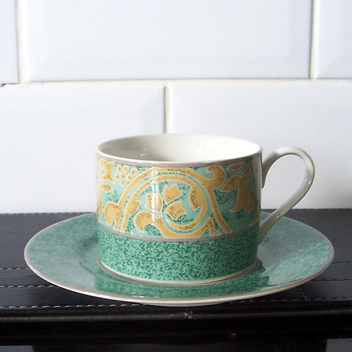 BHS British Home Stores Valencia Cup & Saucer
