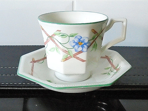 Johnson Brothers Garden Trellis Cup and Saucer