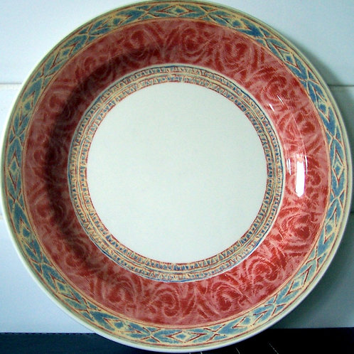 Churchill Ports of Call Zarand Dinner Plate