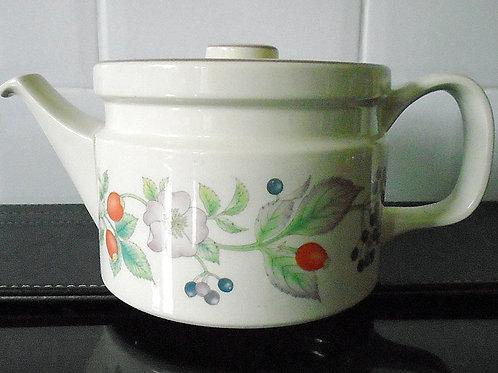 Wedgwood Roseberry Teapot