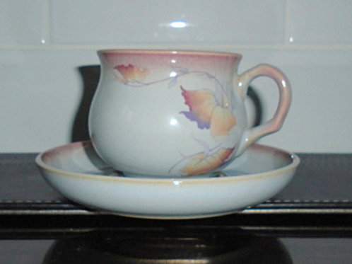Denby Twilight Cup and Saucer