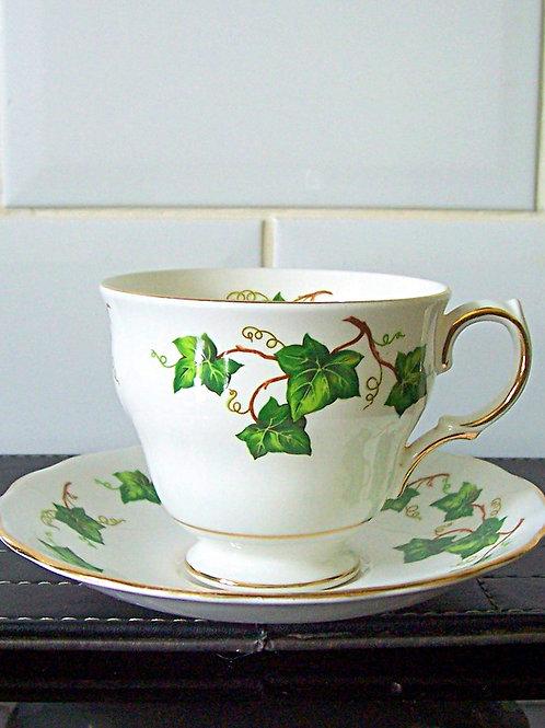 Colclough Ivy Leaf Cup & Saucer