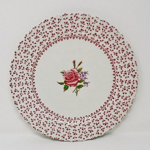 Johnson Brothers Rose Garland Salad Plate