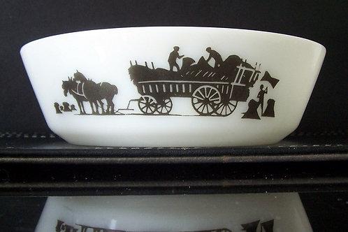 Vintage JAJ Pyrex Haymaker Cereal Bowl
