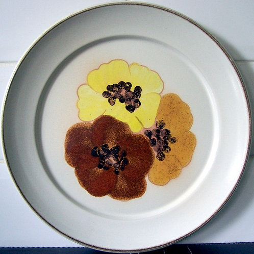 Denby San Gabriel Potpourri Honey Dinner Plate