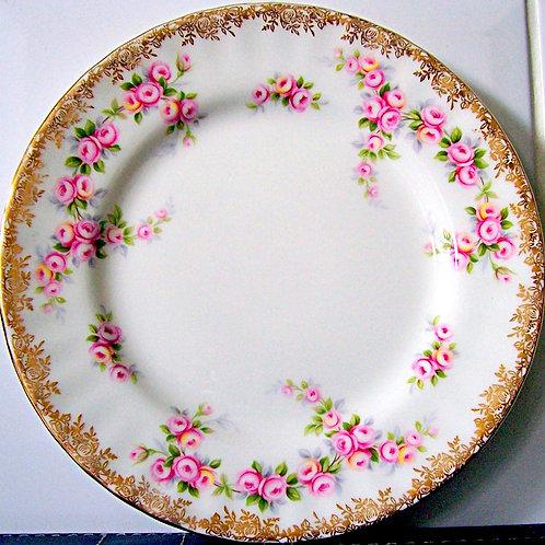 Royal Albert Dimity Rose Tea Plate