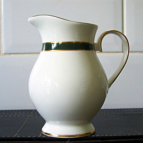Royal Grafton Warwick Green Milk Jug