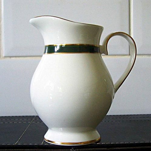 Royal Grafton Warwick Green Milk Jug