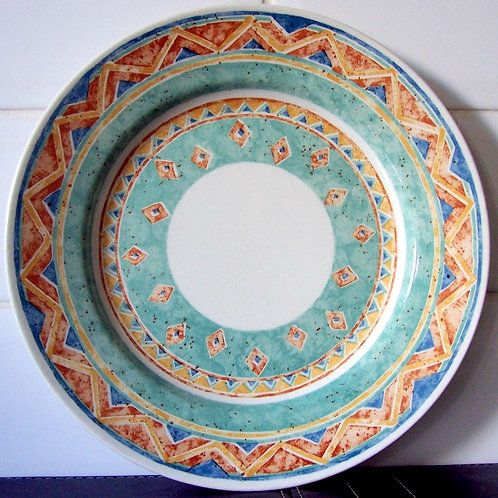 Churchill Ports of Call Kabul Small Dinner Plate