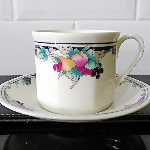 Royal Doulton Autumns Glory Cup & Saucer