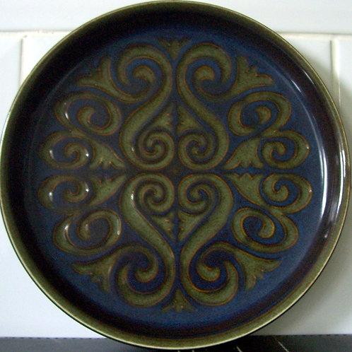 Denby Bokhara Salad Dessert Plate