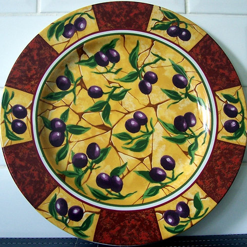 Churchill Oliveto Large Round Platter