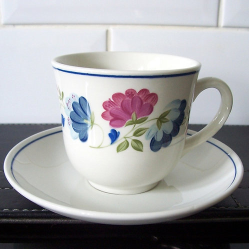 BHS British Home Stores Cup & Saucer