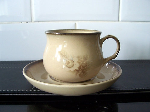 Denby Memories Cup & Saucer