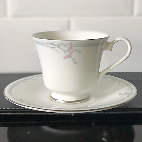 Royal Doulton Carnation Cup and Saucer