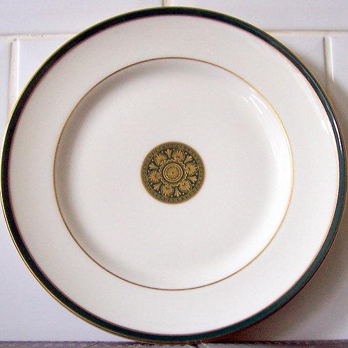 Royal Doulton Oxford Green Salad Dessert Plate
