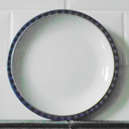 Denby Reflex Blue Salad / Dessert Plate