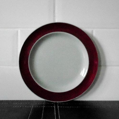 Wedgwood Windsor Grey Salad / Dessert Plate