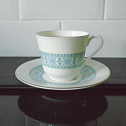 Royal Doulton Counterpoint Cup and Saucer