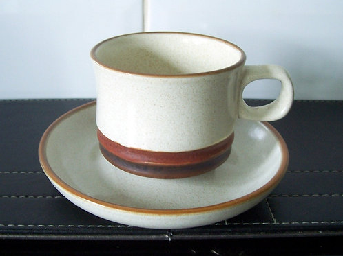 Denby Potters Wheel Cup & Saucer