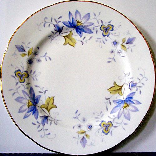 Colclough Rhapsody in Blue Tea Plate