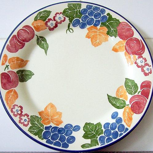 Staffordshire Chianti Dinner Plate