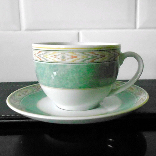Wedgwood Aztec Cup & Saucer
