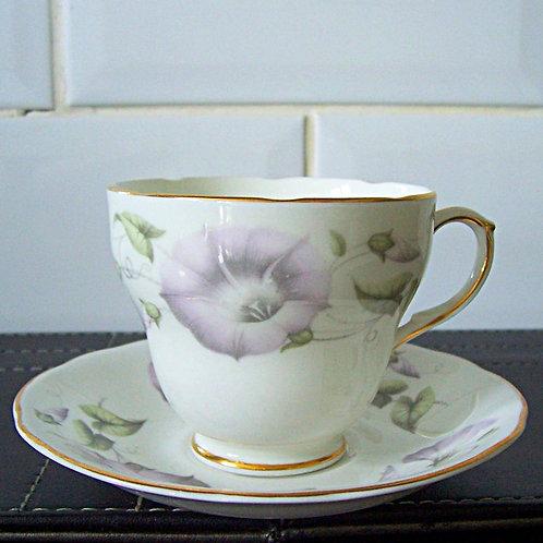 Duchess Morning Glory Coffee Cup & Saucer
