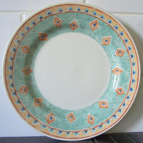 Churchill Ports of Call Kabul Salad Dessert Plate