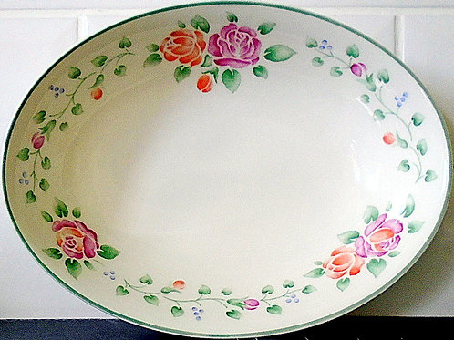 Royal Doulton Angelina Oval Open Serving Vegetable Dish
