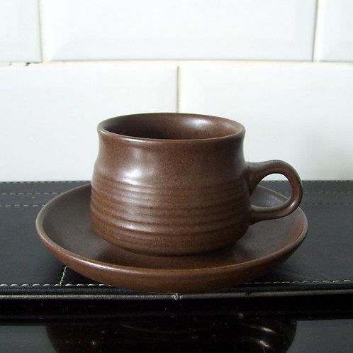 Denby Langley Mayflower Cup & Saucer