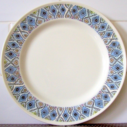 Wedgwood Mosaic Salad Dessert Plate