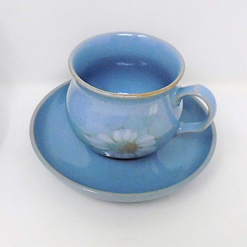 Denby Blue Dawn Cup and Saucer
