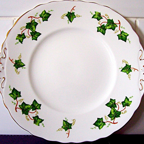 Colclough Ivy Leaf Cake Plate