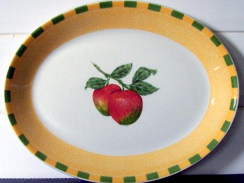 Churchill Somerset Fruits Oval Platter Plate