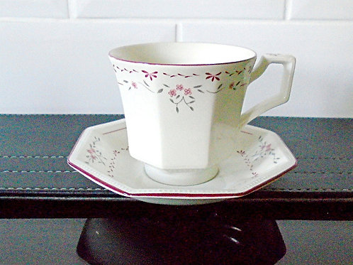 Johnson Brothers Madison Cup & Saucer